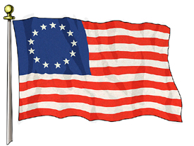 Image result for us flag 1775