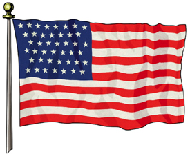 official u s flags1777 1960